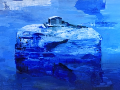 La isla habitada|PinturadeCarmen Montero| Compra arte en Flecha.es