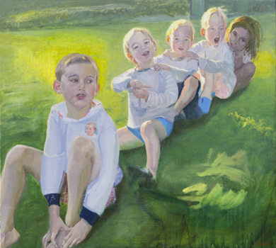 Nous sommes les enfants de la même famille|PinturadeIgnacio Mateos| Compra arte en Flecha.es