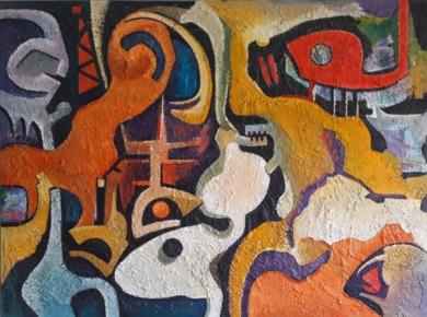CARNAVAL|PinturadeValeriano Cortázar| Compra arte en Flecha.es