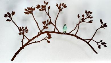 Rama de escaramujo|EsculturadeCharlotte Adde| Compra arte en Flecha.es