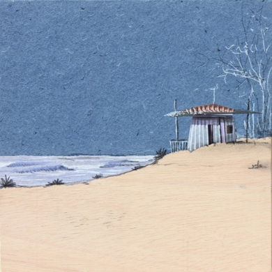 Casita de costa nova|DibujodeEduardo Query| Compra arte en Flecha.es