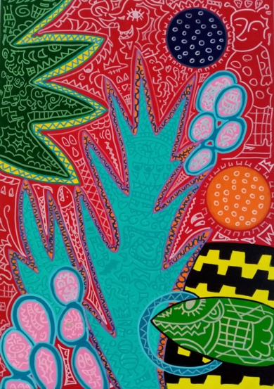 Los salvajès|PinturadePhilip Verhoeven| Compra arte en Flecha.es