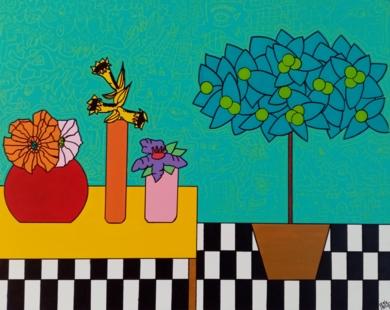 El solàrium|PinturadePhilip Verhoeven| Compra arte en Flecha.es