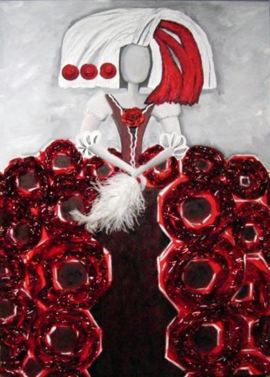 Menina Sevilla|CollagedeMaite Rodriguez| Compra arte en Flecha.es