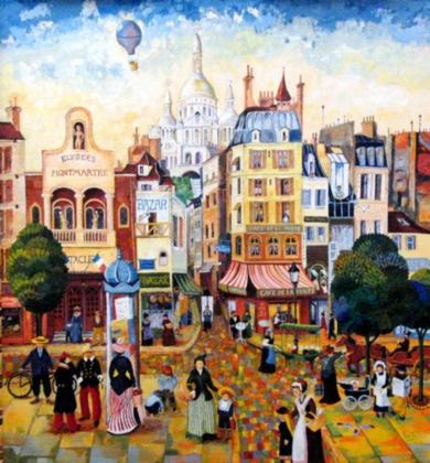 Paris|CollagedeMaite Rodriguez| Compra arte en Flecha.es