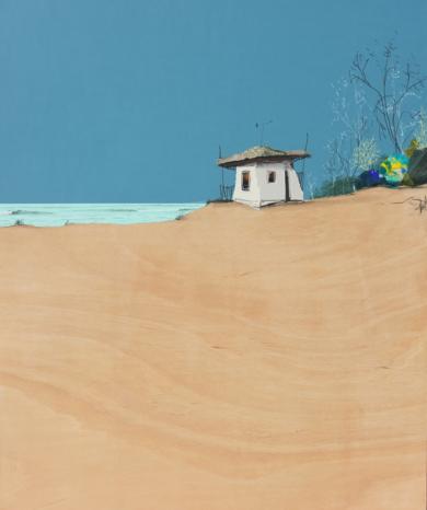 Sobre la arena|CollagedeEduardo Query| Compra arte en Flecha.es