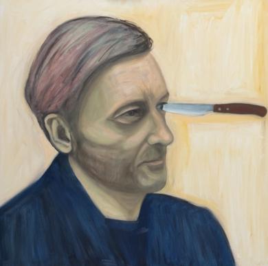 A good artwork is like a knife in the eye: Borremans|DibujodeOliverPlehn-Artist| Compra arte en Flecha.es
