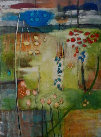 HOJA DE PLATA|PinturadeBARBAC| Compra arte en Flecha.es