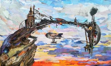 Territorio salvaje|CollagedeAmador Sevilla| Compra arte en Flecha.es