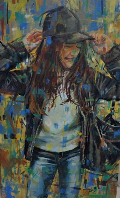 Estupenda|PinturadeAmaya Fernández Fariza| Compra arte en Flecha.es