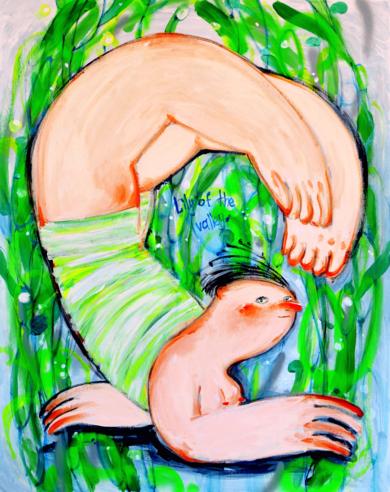 LIRIO DE LOS VALLES PinturadeYana Medow  Compra arte en Flecha.es