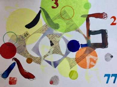 Divertimento III CollagedeOlga Moreno Maza  Compra arte en Flecha.es