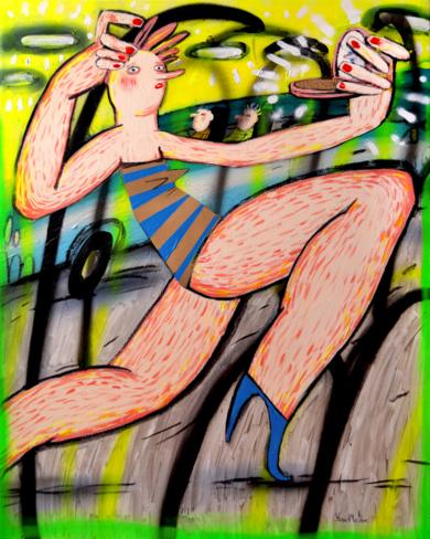 Células nerviosas PinturadeYana Medow  Compra arte en Flecha.es