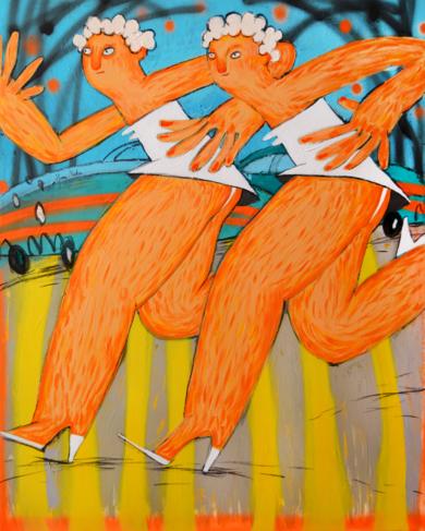Corre PinturadeYana Medow  Compra arte en Flecha.es