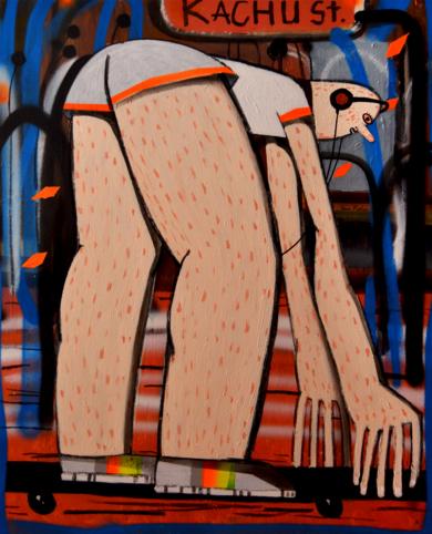 Rolling PinturadeYana Medow  Compra arte en Flecha.es