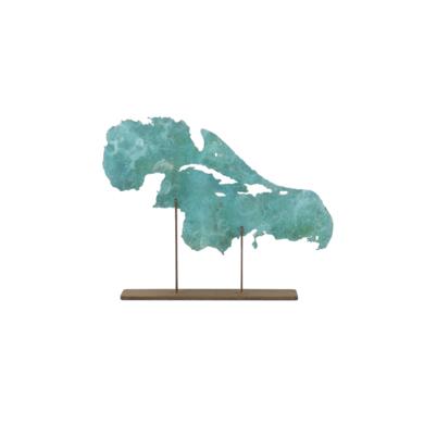 Golfo de Méjico y Mar caribe|EsculturadeJaelius Aguirre| Compra arte en Flecha.es