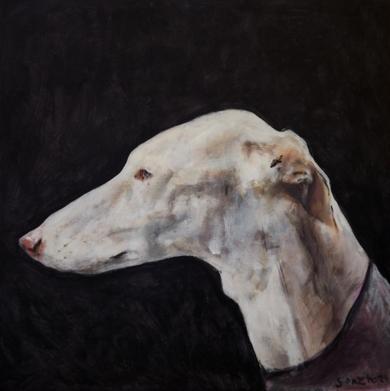 De perfil|PinturadeGonzho| Compra arte en Flecha.es