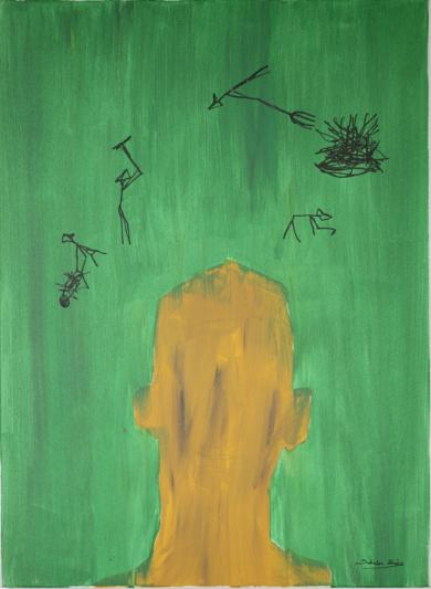 PENSAMENTS 01|PinturadeSalvador Llinàs| Compra arte en Flecha.es