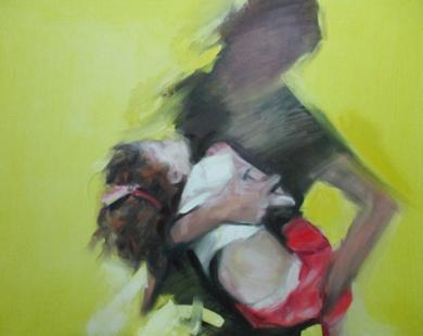 EN  AMARILLO PinturadeEva Villalba  Compra arte en Flecha.es