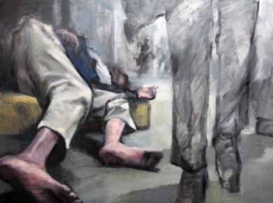 DESHUMANIZADOS PinturadeEva Villalba  Compra arte en Flecha.es