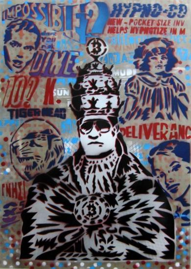 La Nueva Redención|PinturadeCarlos Madriz| Compra arte en Flecha.es