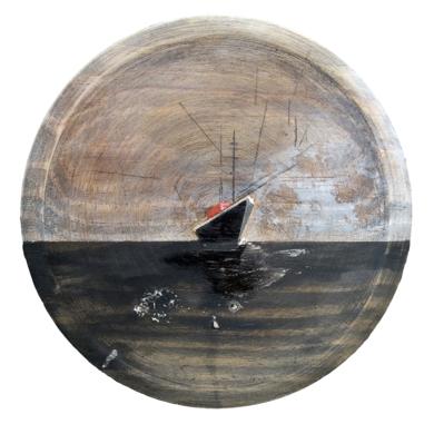 Ship #09|PinturadeAya Eliav| Compra arte en Flecha.es
