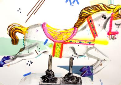 UP and DOWN|CollagedeAlejandra de la Torre| Compra arte en Flecha.es