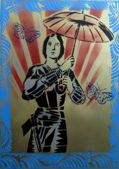 Tormento III (Juana)|PinturadeCarlos Madriz| Compra arte en Flecha.es
