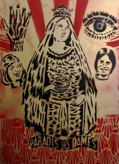 Tormento I (Lucia)|PinturadeCarlos Madriz| Compra arte en Flecha.es