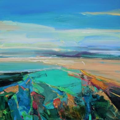 Along The Coast 1 PinturadeMagdalena Morey  Compra arte en Flecha.es