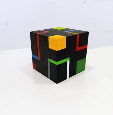 Cube f|EsculturadeLuis Medina| Compra arte en Flecha.es