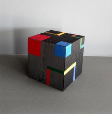 Cube a|EsculturadeLuis Medina| Compra arte en Flecha.es