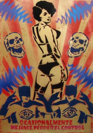 El Contról|PinturadeCarlos Madriz| Compra arte en Flecha.es