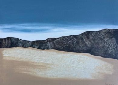 Tierra y cielo|PinturadeMilena Mateva| Compra arte en Flecha.es