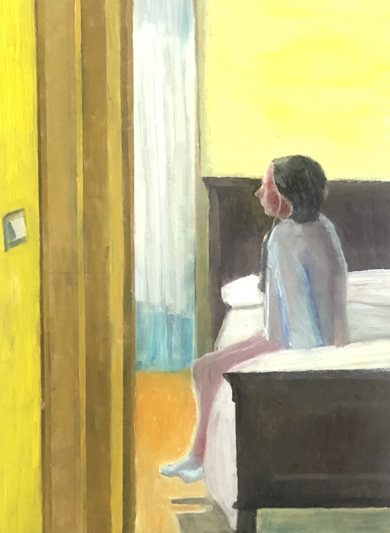 Three states of mind: Awakening I|PinturadeSusana Mata| Compra arte en Flecha.es