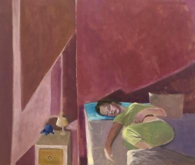 Sleeper|PinturadeSusana Mata| Compra arte en Flecha.es