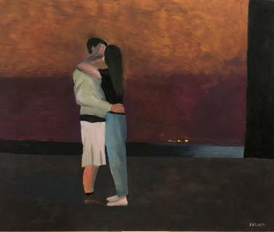 The kiss|PinturadeSusana Mata| Compra arte en Flecha.es
