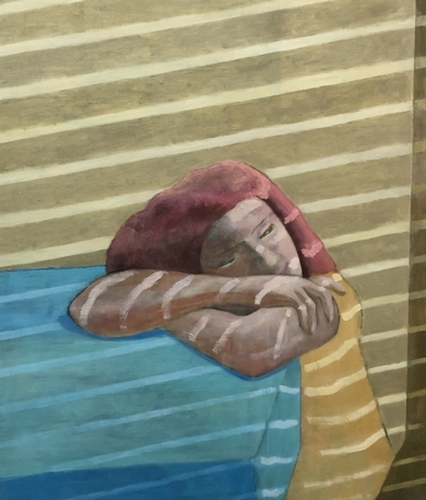 Interior: Summer reflections|PinturadeSusana Mata| Compra arte en Flecha.es