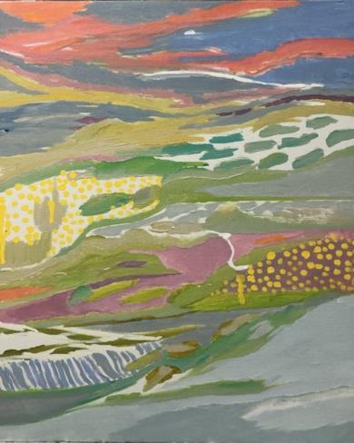 PAISAJE II|PinturadeIraide Garitaonandia| Compra arte en Flecha.es