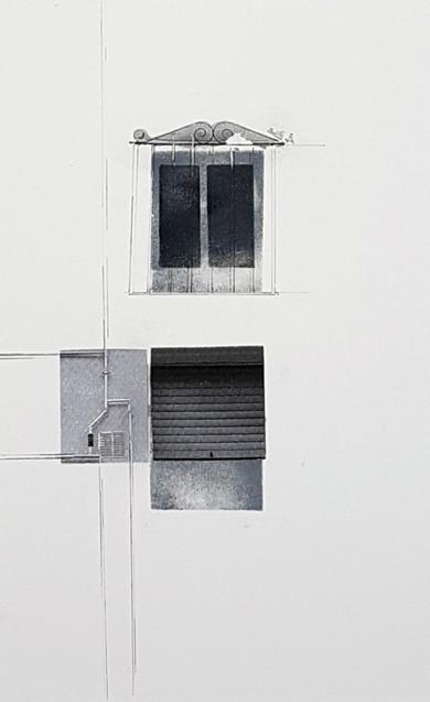 Ventanas 3|CollagedeVirginia Moncalián| Compra arte en Flecha.es