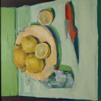limones|PinturadeJuan Moreno Moya| Compra arte en Flecha.es