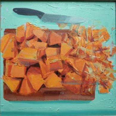 calabaza|PinturadeJuan Moreno Moya| Compra arte en Flecha.es