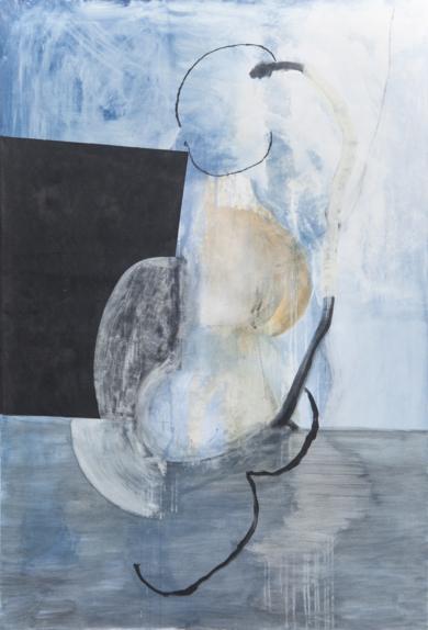 Mujer sentada|PinturadeJeronimo Maya Moreno| Compra arte en Flecha.es
