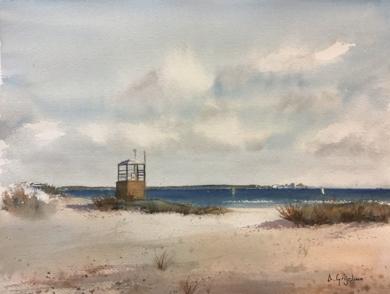 Desde las dunas|PinturadeChela Grijelmo| Compra arte en Flecha.es