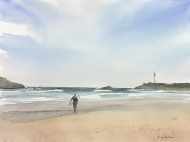 A por olas|PinturadeChela Grijelmo| Compra arte en Flecha.es