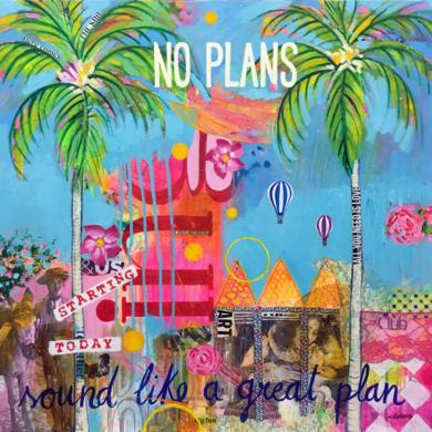 No plans|PinturadeMaría Burgaz| Compra arte en Flecha.es