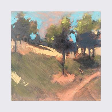 Through the sunlit field|PinturadeJENNY FERMOR| Compra arte en Flecha.es