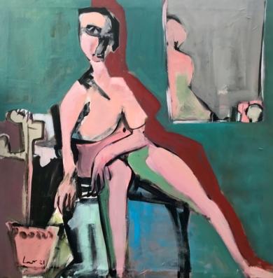 Seducer|PinturadeOscar Leonor| Compra arte en Flecha.es