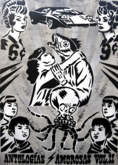 Antologías  Amorosas Vol. II|PinturadeCarlos Madriz| Compra arte en Flecha.es