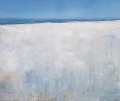 Playa de ibiza PinturadeMiguel Ángel García López  Compra arte en Flecha.es